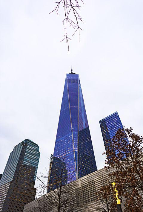 Rascacielos de Word Trade Center. Invierno 2015