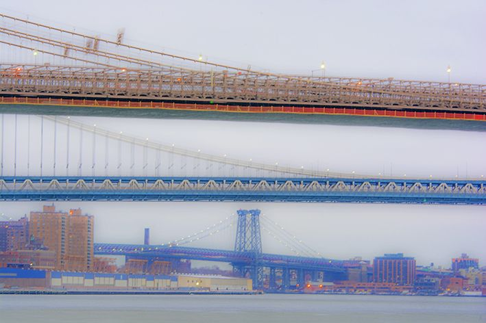 Puentes de Brooklyn, Manhattan y Williamsburg