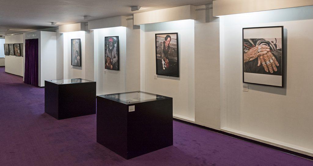 Exposicón de Xisco Fuster. Teatro Eliecer Gaitán. Cinemateca Distrital. Bogotá, Colombia
