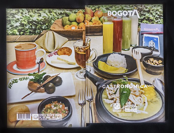 Cover photo of the Gastronomic Guide of Bogotá. © xiscofuster