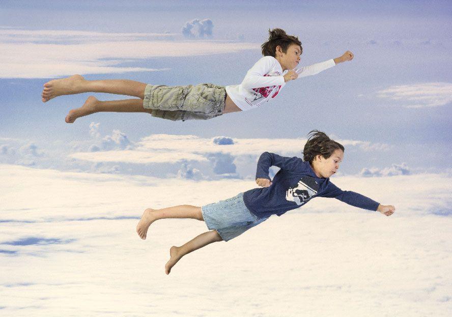 niños vuelan xisco fuster infantil