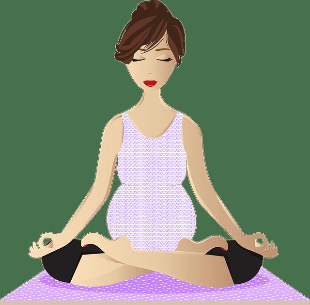 mujer embarazada yoga xisco fuster