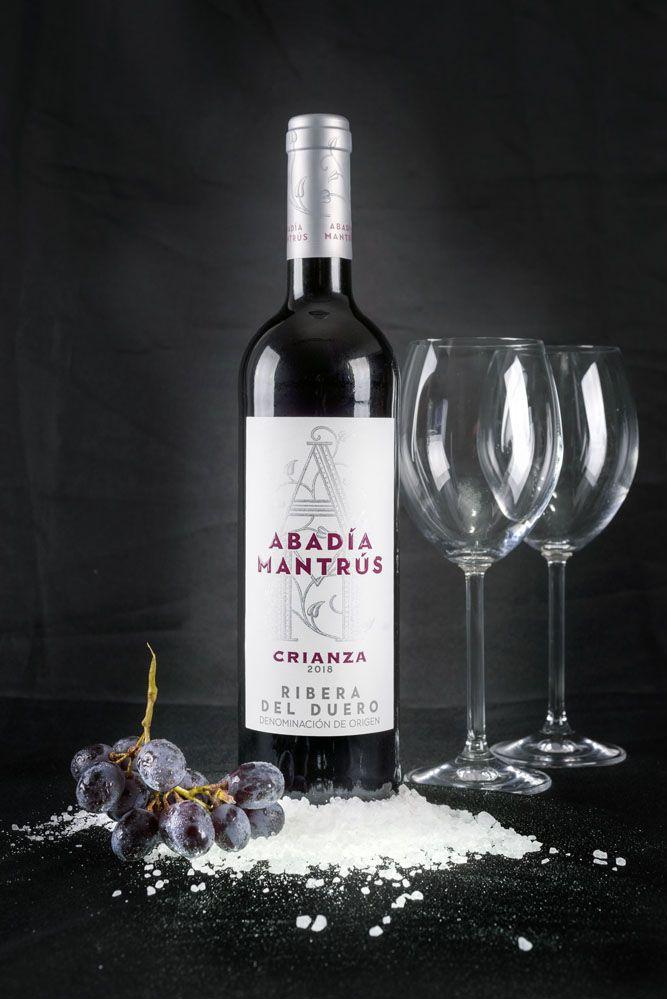 botella de vino tinto fotografía de producto mallorca